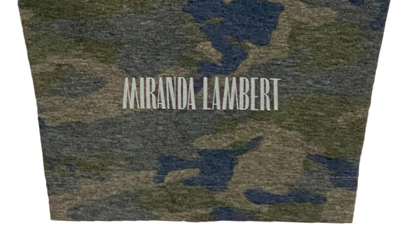 """Miranda Lambert"" on left sleeve"