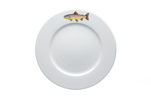 Brown Trout Dinner Plate