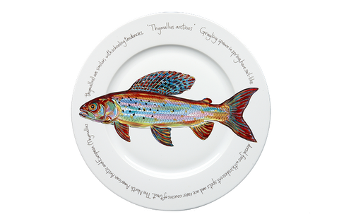 Arctic Grayling Presentation Plate