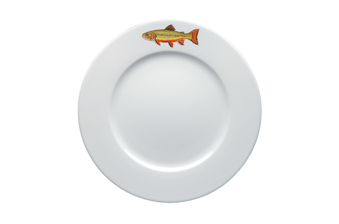 Brook Trout Dinner Plate