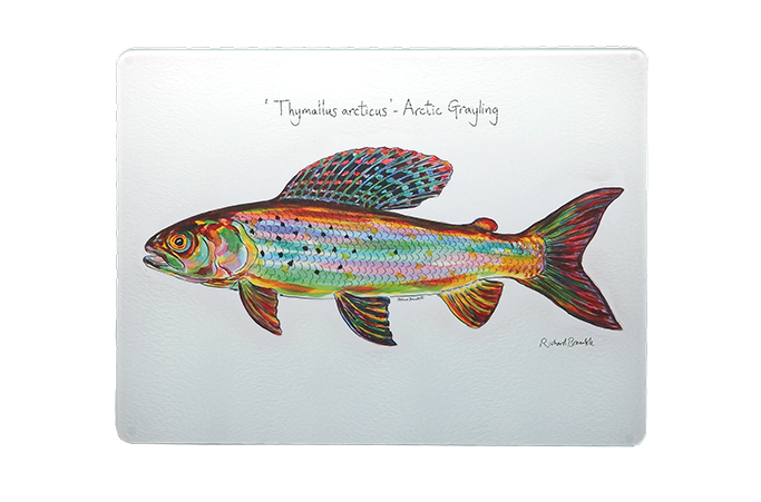 Trout Chopping Board
