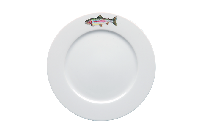 Trout Dinner Plate