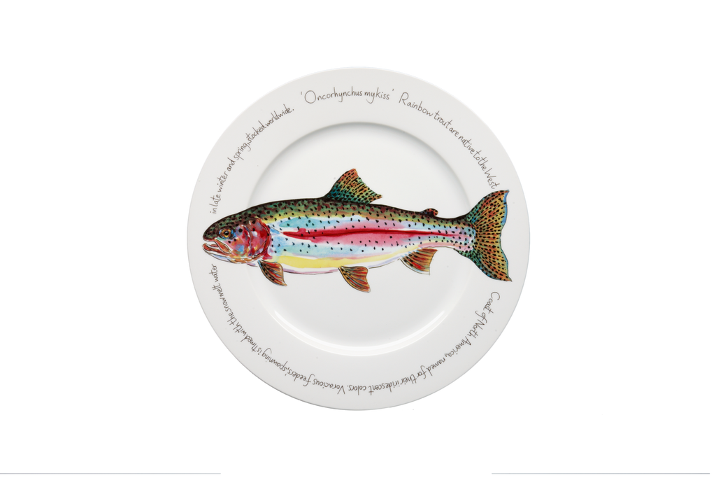 Trout Presentation Plate