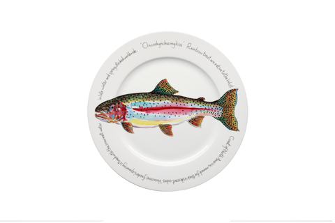Rainbow Trout Presentation Plate