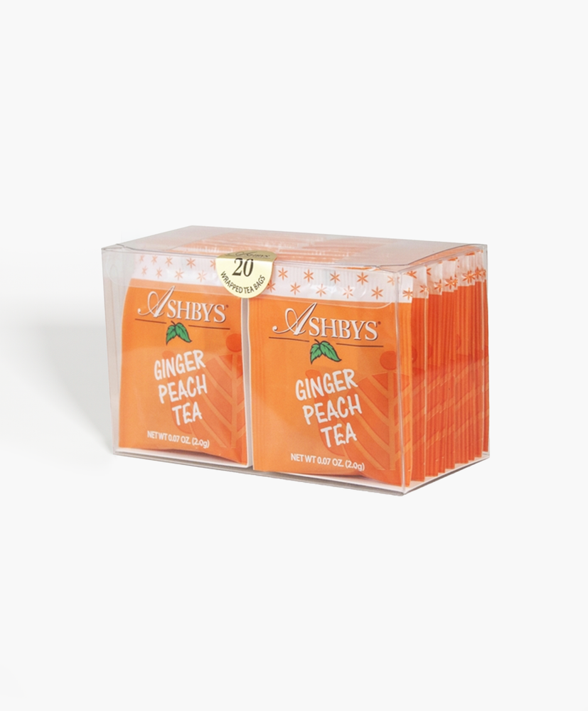 Load image into Gallery viewer, Ginger Peach Tea Bags