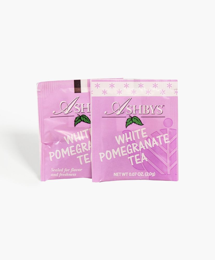 White Pomegranate Tea Bags