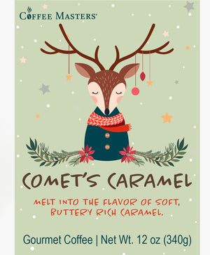 Load image into Gallery viewer, Comet's Caramel - Holiday Bag