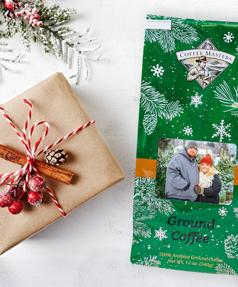 Personalized Holiday Greeting Bag - Green