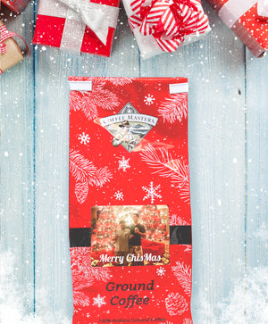 Personalized Holiday Greeting Bag - Red