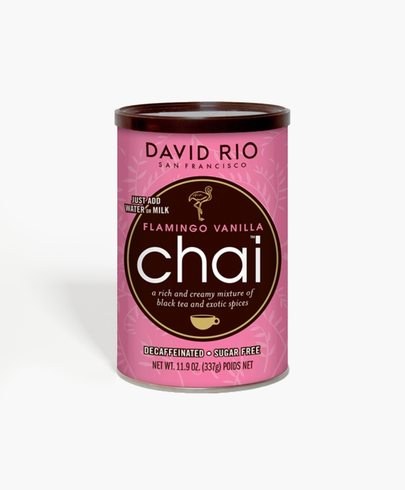 Flamingo Vanilla Decaf - Sugar Free Chai Can