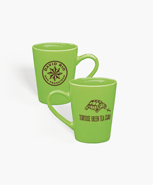 Load image into Gallery viewer, David Rio Tortoise Green Mug - Green