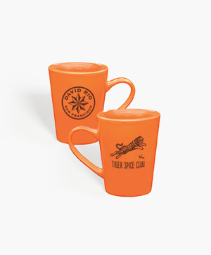 David Rio Tiger Spice Mug - Orange