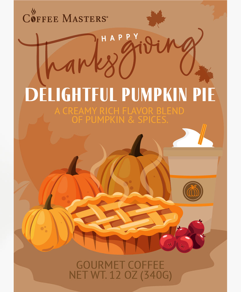 Delightful Pumpkin Pie - Thanksgiving Bag