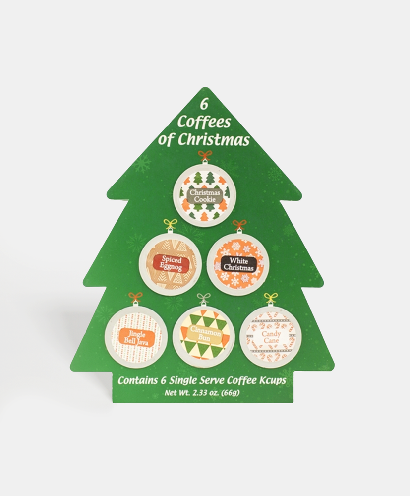 The 6 Single Serve Coffees of Christmas