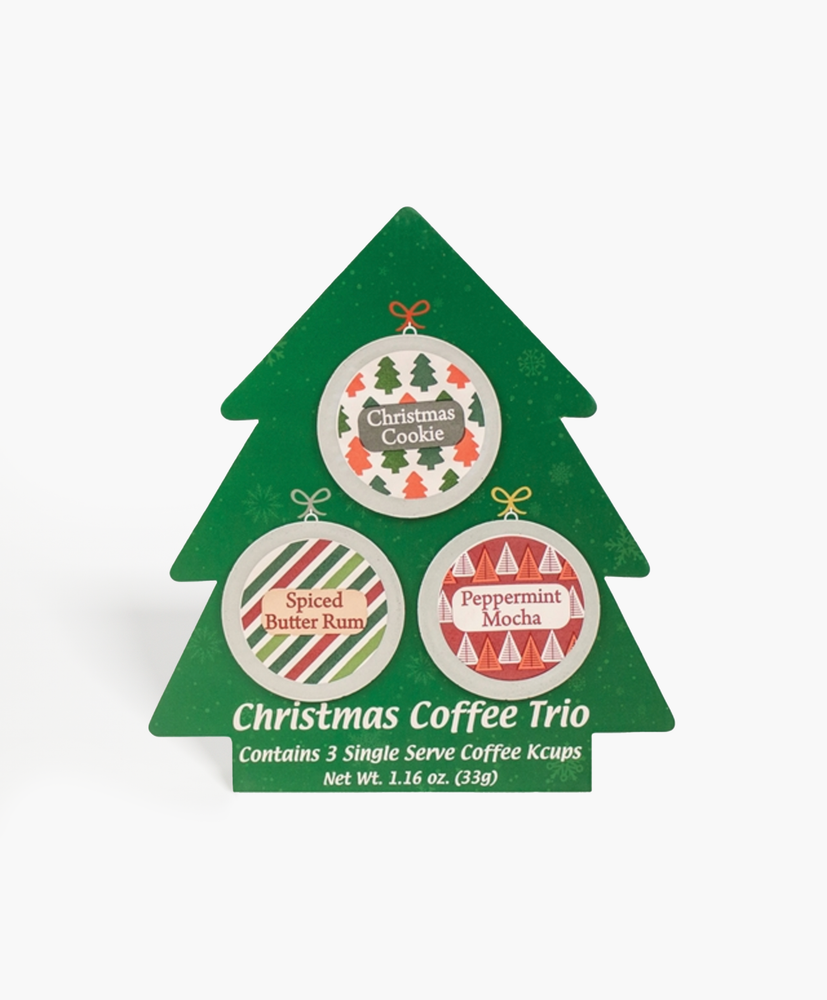 Christmas Coffee Single Serve Cup Trio