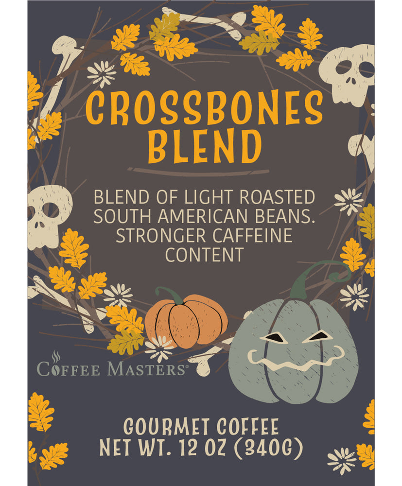 Crossbones Blend - Fall / Halloween Bag