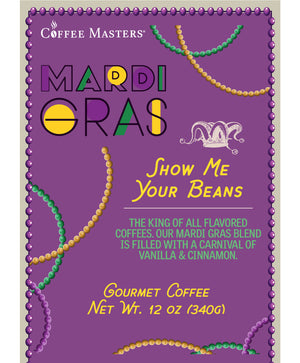 Load image into Gallery viewer, Show Me Your Beans - Mardi Gras Bag