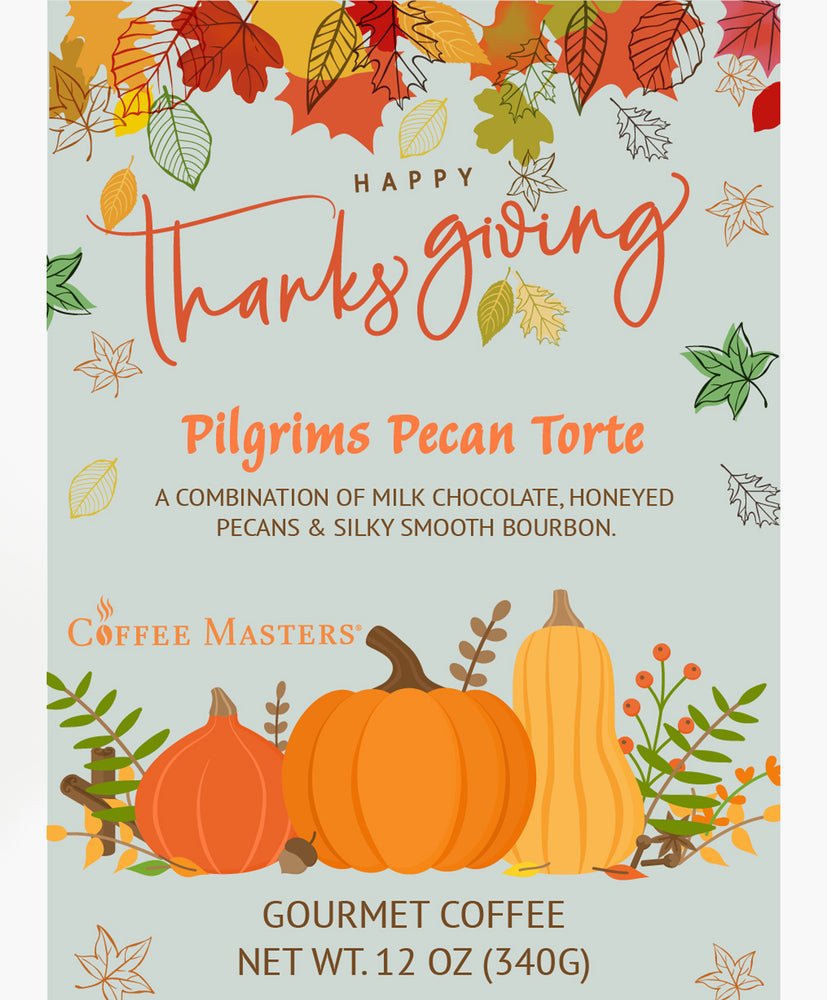Pilgrims Pecan Torte - Thanksgiving Bag