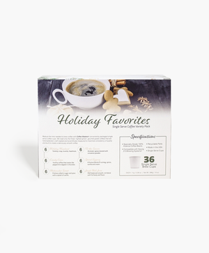 Load image into Gallery viewer, Holiday 36 Count Single Serve Coffee Box