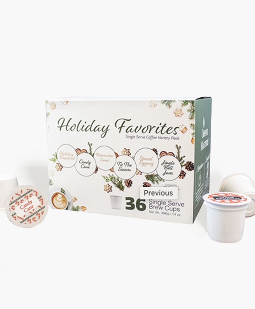 Holiday 36 Count Single Serve Coffee Box