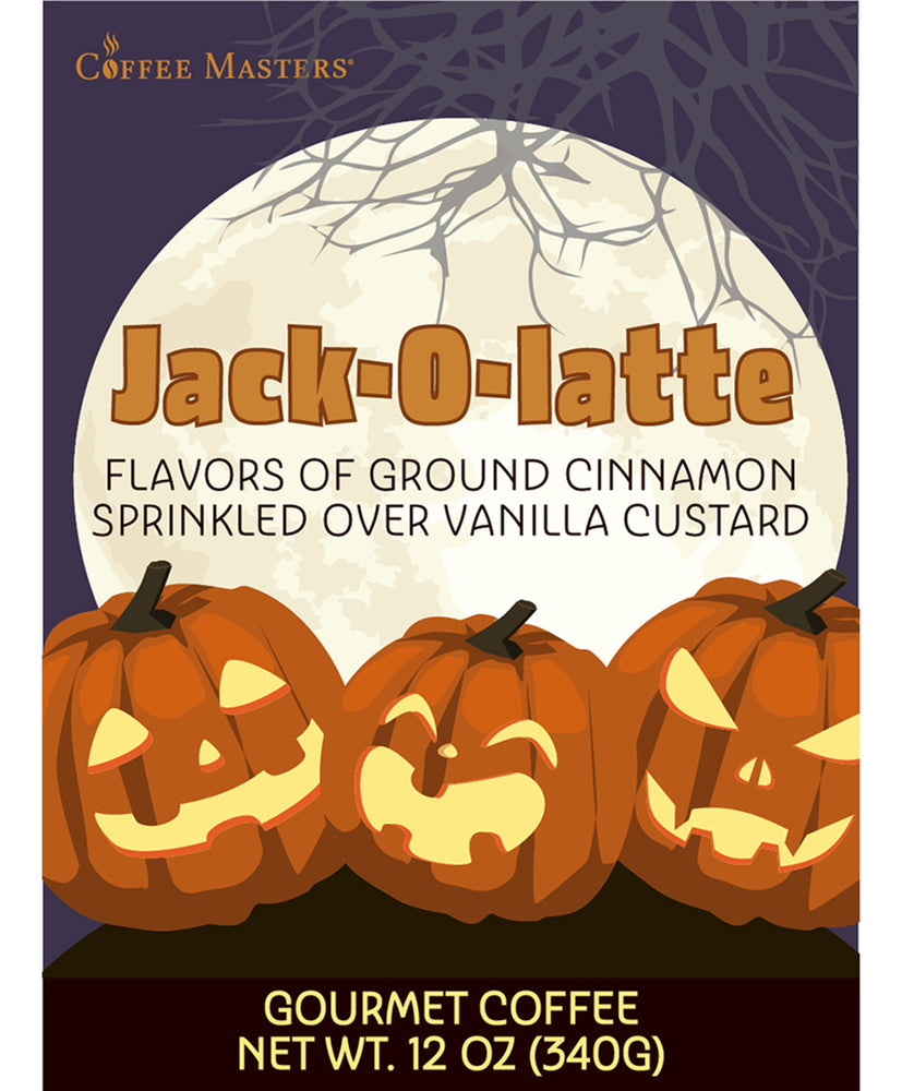 Load image into Gallery viewer, Jack-O-Latte - Fall / Halloween Bag