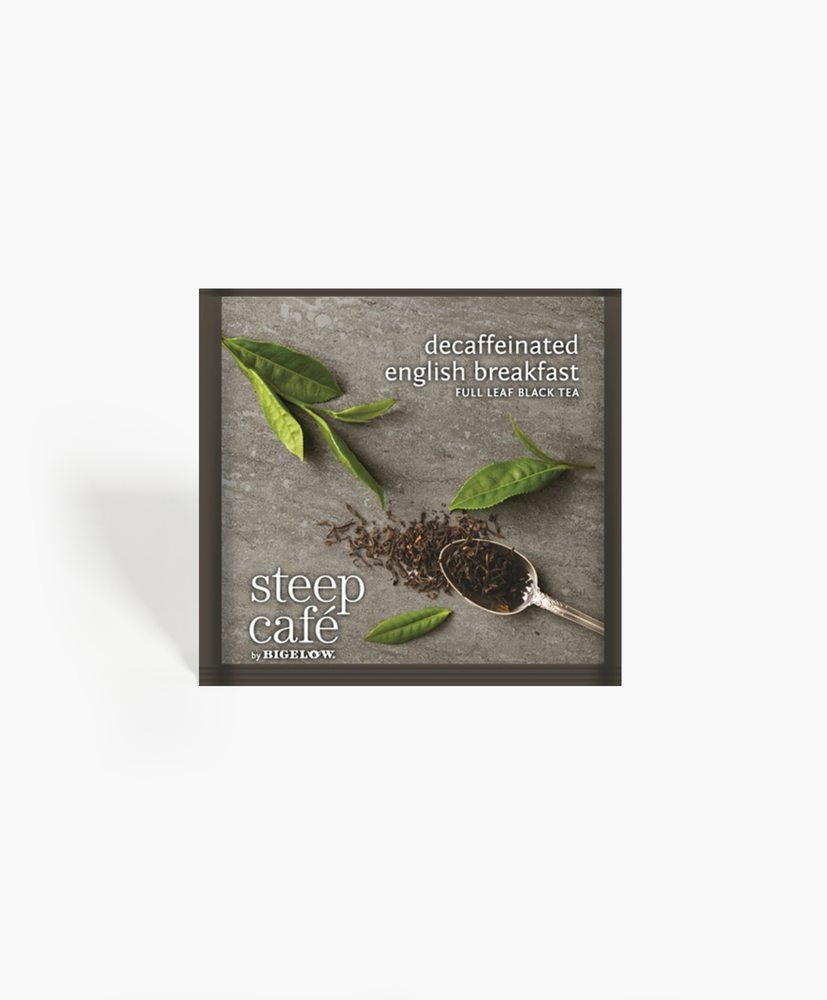 Steep Cafe - Decaf English Breakfast Tea Bags