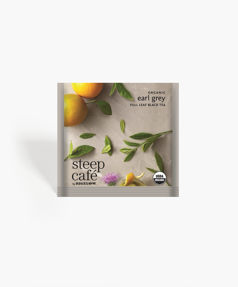 Steep Cafe - Organic Earl Grey Tea Bags