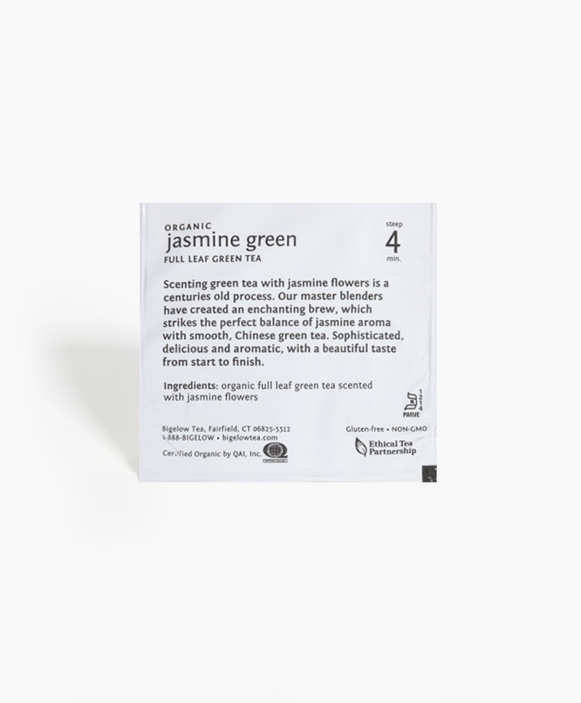 Load image into Gallery viewer, Steep Cafe - Organic Jasmine Green Tea Bags