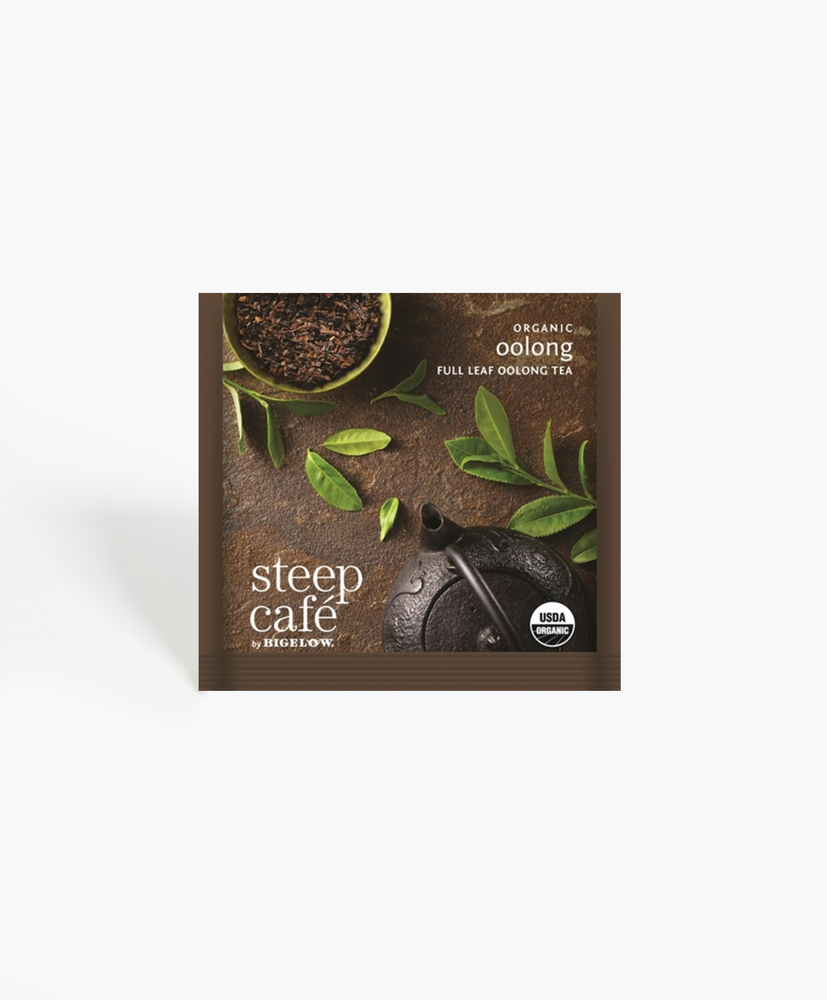 Steep Cafe - Organic Oolong Tea Bags