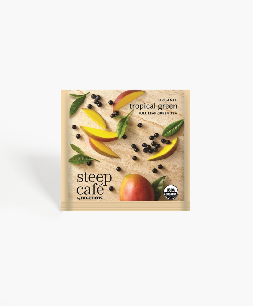 Steep Cafe - Organic Tropical Green Tea Bags
