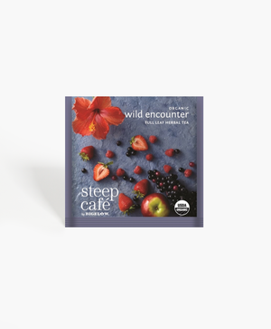 Steep Cafe - Organic Wild Encounter Tea Bags