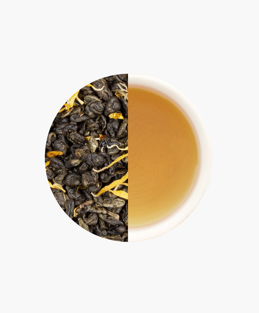 Green Ginger Peach Loose Leaf Tea