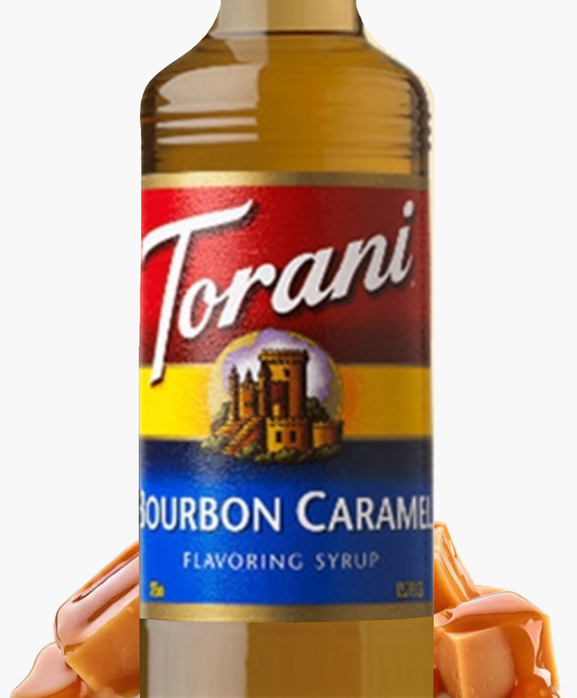 Load image into Gallery viewer, Bourbon Caramel Torani 750 ml Syrups