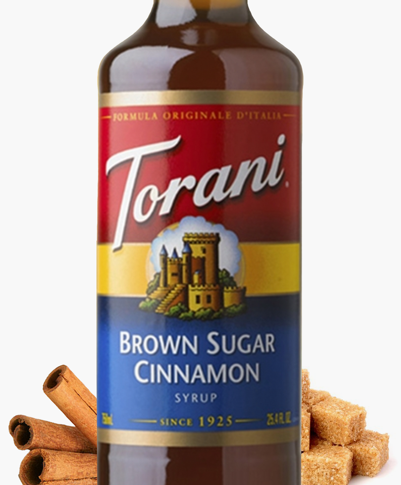 Brown Sugar Cinnamon Torani 750 ml Syrups