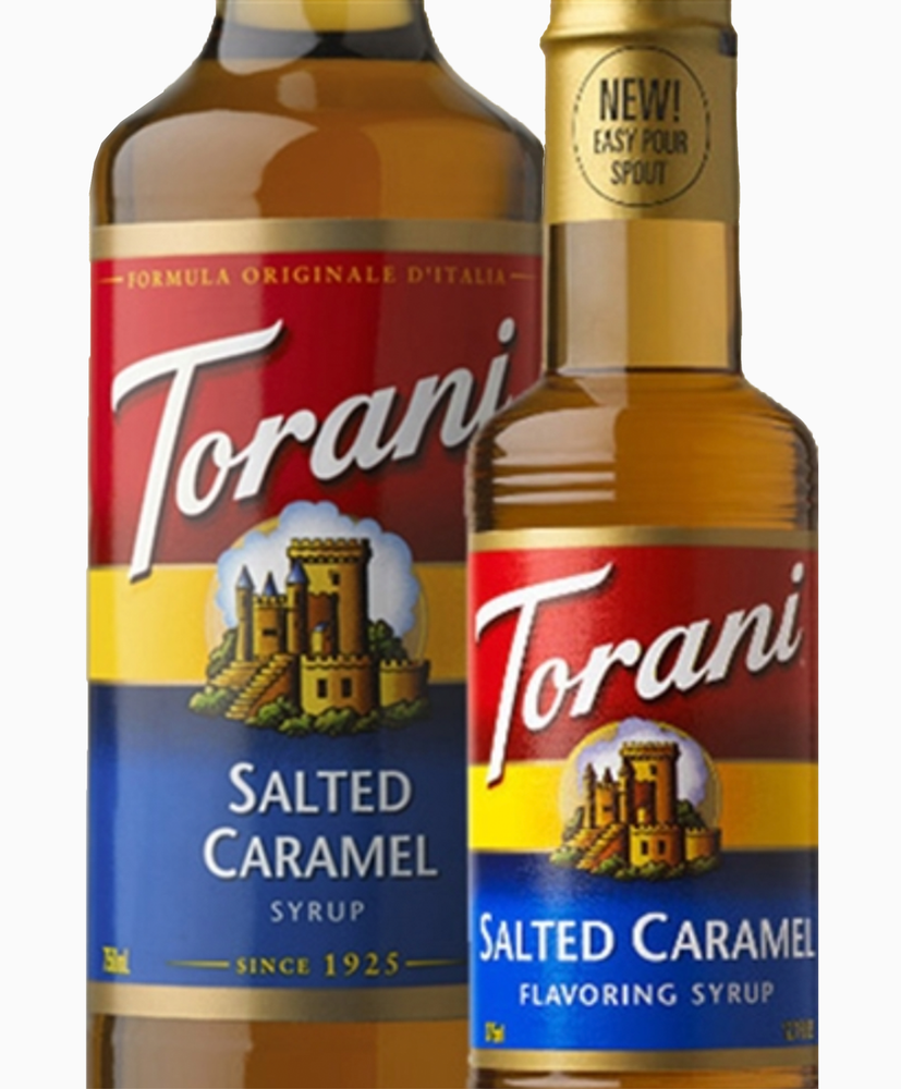 Load image into Gallery viewer, Salted Caramel Torani® 750 ml Syrups