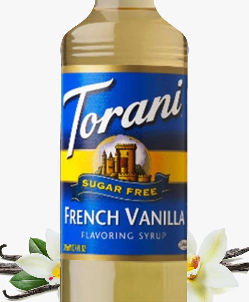 Load image into Gallery viewer, Sugar-Free French Vanilla Torani 750 ml Syrups
