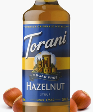 Load image into Gallery viewer, Sugar-Free Hazelnut Torani 750 ml Syrups