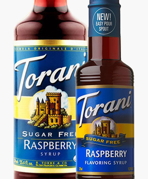 Sugar-Free Raspberry Torani® 750 ml Syrups