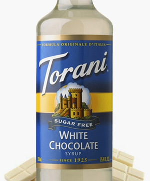 Load image into Gallery viewer, Sugar-Free White Chocolate Torani 750 ml Syrups