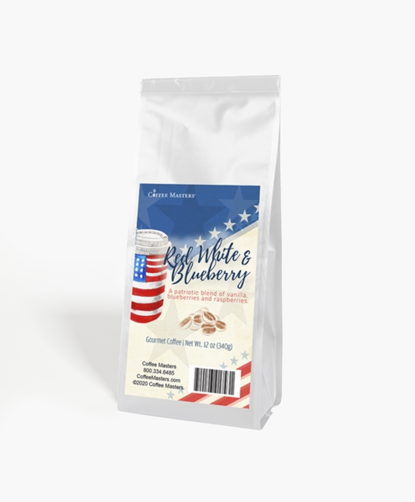 Red, White and Blueberries - 4th of July Bag