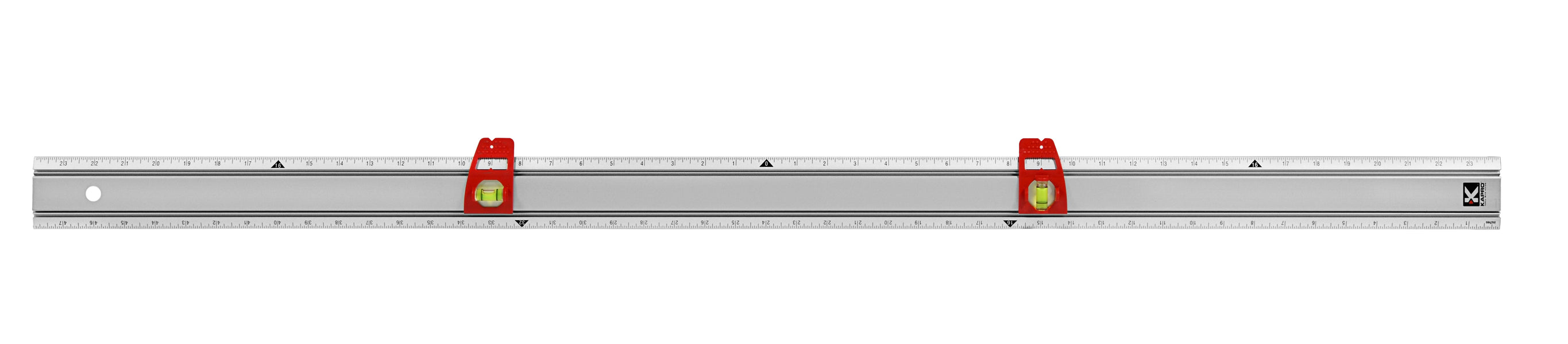 314 Set & Match Ruler with Sliding Vials with English Graduations 1/8
