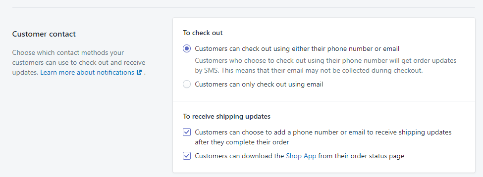 settings shopify settings about customer registered_dropshipman