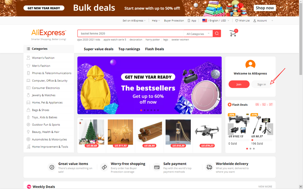 aliexpress dropshipping center guide to choose products - Dropshipman