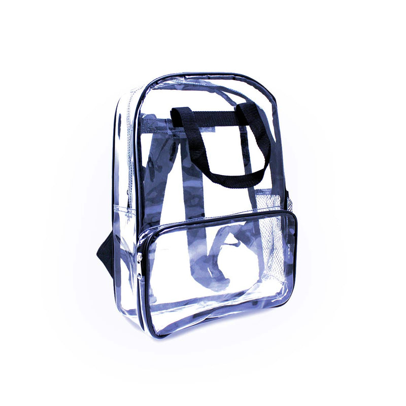 Navy Wholesale 18 inch Clear Bulk Backpacks