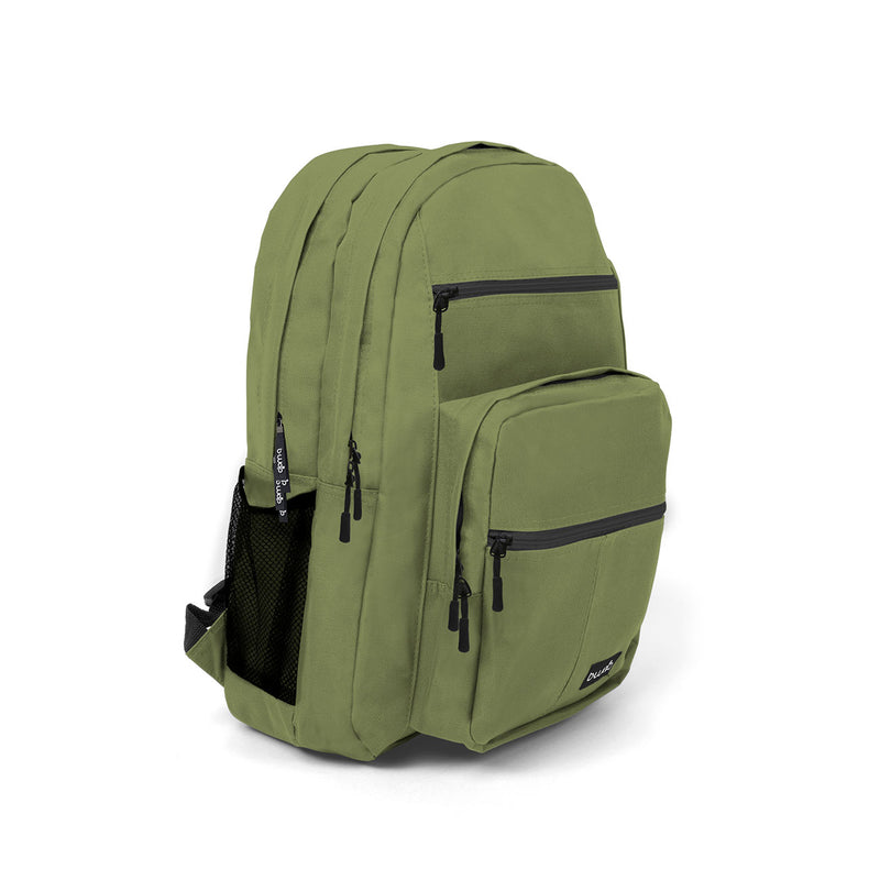 Olive Wholesale Backpack in Bulk Side
