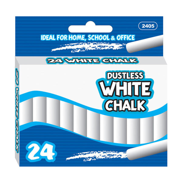 White Chalk Bulk School Supplies