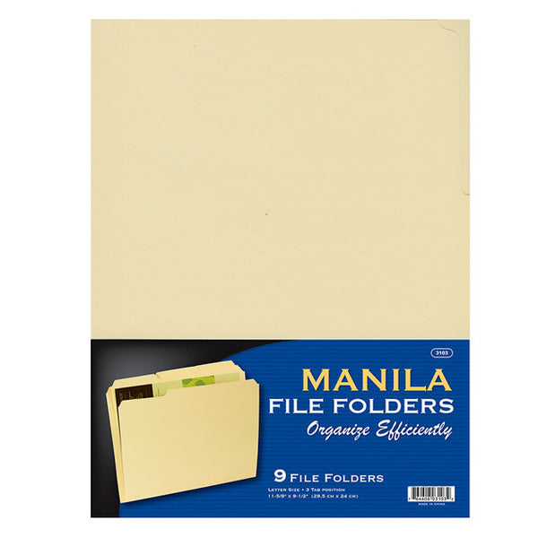 Wholesale School Supplies Manila Folder Sold in Bulk