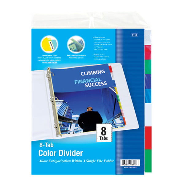 Wholesale School Supplies 5 Tab Binder Dividers Sold in Bulk