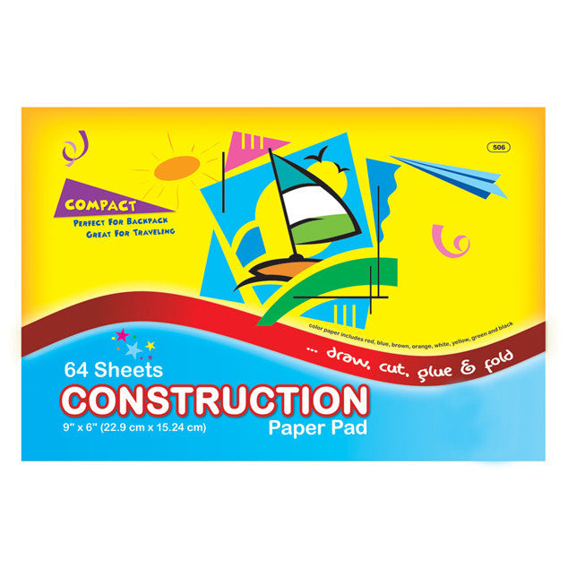 Mini Construction Paper Sold in Bulk for School Supplies