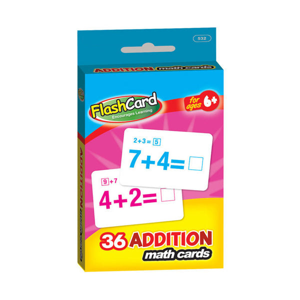 Wholesale School Supplies Addition Flash Cards Sold in Bulk